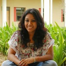 Anjali felhasználói profilja