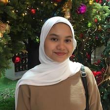 Puteri Zarina User Profile