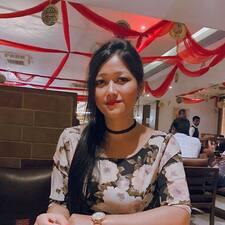 Elizabeth Devi felhasználói profilja