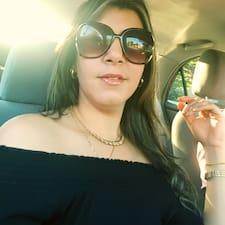 Marien felhasználói profilja