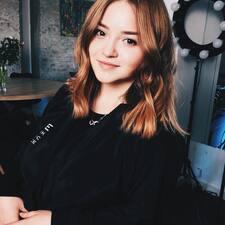 Profil utilisateur de Mary