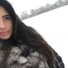 Vittoria felhasználói profilja
