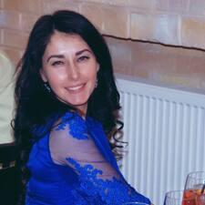 Olesia felhasználói profilja