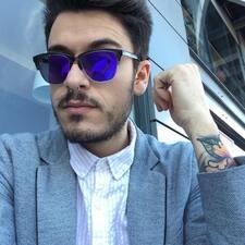 Enric felhasználói profilja