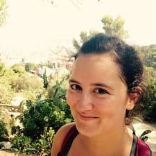 Cloé felhasználói profilja