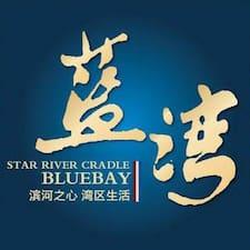 蓝湾酒店 is the host.