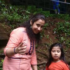 Shilpa felhasználói profilja