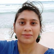 Henkilön Aishwarya käyttäjäprofiili