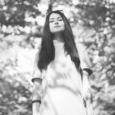Aleksandra felhasználói profilja