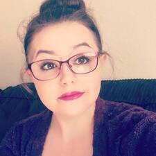 Kaitlynn felhasználói profilja