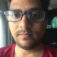 Perfil do utilizador de Raj