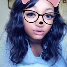 Keisha felhasználói profilja