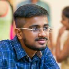Användarprofil för Anish