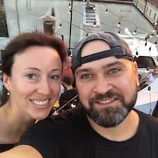 Profil Pengguna Helene & Ruslan