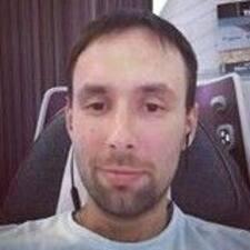 Perfil do utilizador de Vadim