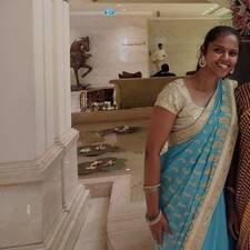 Anitha felhasználói profilja