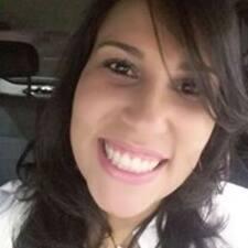 Ana Paula felhasználói profilja