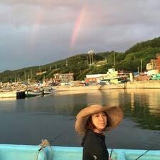 Suzy felhasználói profilja