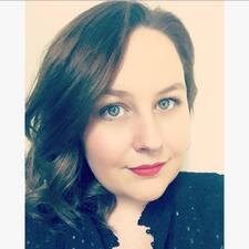Amandine felhasználói profilja