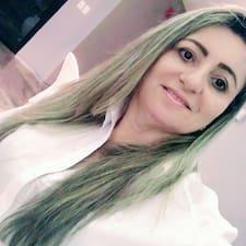 Maria Aparecida felhasználói profilja