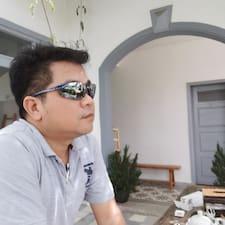 Cuong felhasználói profilja