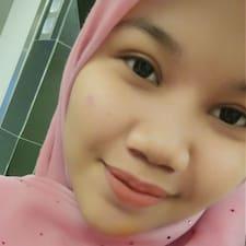 Profil utilisateur de Faizah