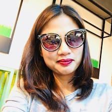 Gladys felhasználói profilja