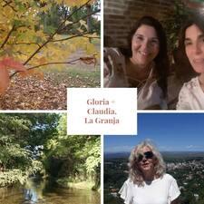 Användarprofil för Gloria & Claudia