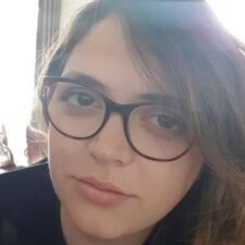 Ophelie felhasználói profilja