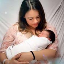 Adriana felhasználói profilja