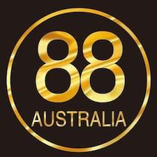 88 Australia Superhost házigazda.