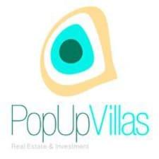 PopUp User Profile