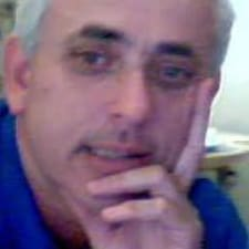 Aharon felhasználói profilja