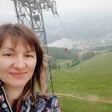 Liudmila felhasználói profilja