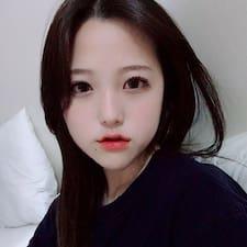 Användarprofil för Jieun