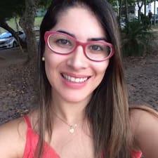 Ana Caroline felhasználói profilja