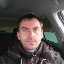 Användarprofil för Pavel