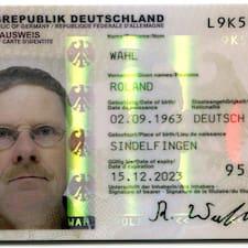 Roland Brukerprofil