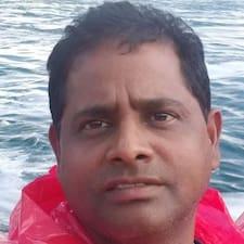 Henkilön Chandrasekhar käyttäjäprofiili