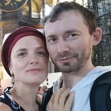 Natalia & Dmitry felhasználói profilja