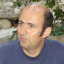 Perfil do utilizador de Frédéric