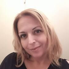 Marielle felhasználói profilja