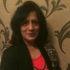 Varsha felhasználói profilja