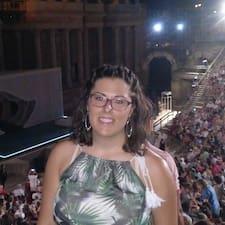 María felhasználói profilja