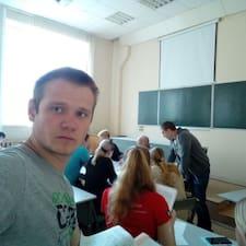 Henkilön Кириллл käyttäjäprofiili