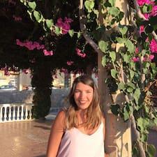Aurélie felhasználói profilja