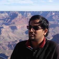 Perfil do utilizador de Siddarth