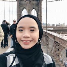 Farah felhasználói profilja
