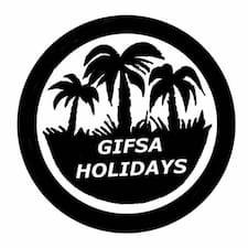 Gifsa Holidays felhasználói profilja