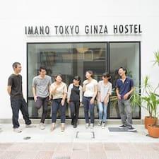 Gebruikersprofiel Imano Tokyo Ginza HOSTEL